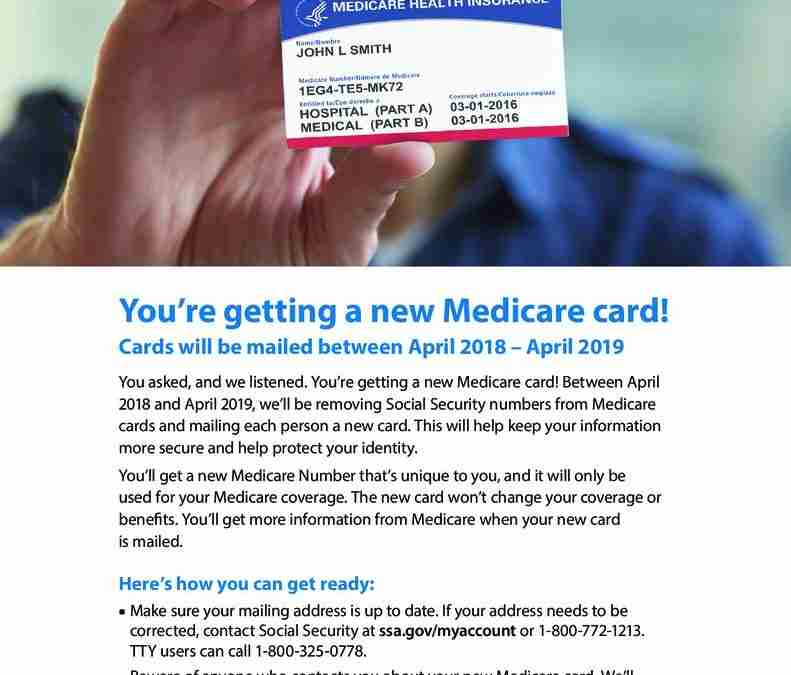 Download The New Medicare Card Flyer