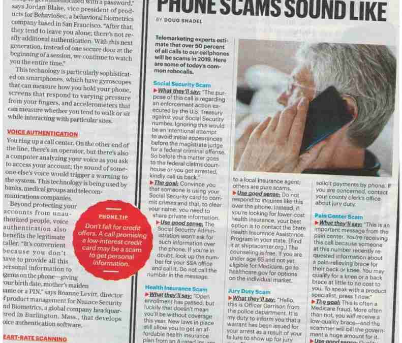 Whats The Latest Phone Scam Sound Like